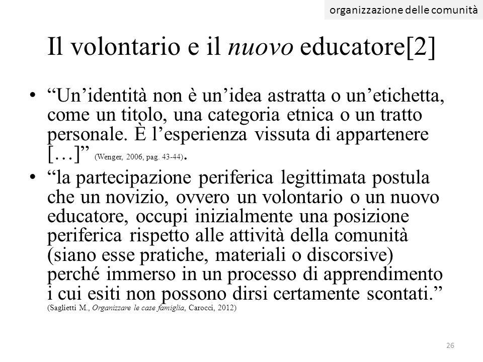 Il volontario e il nuovo educatore[2]